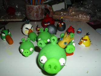 Angry Birds: PIG RAID!!! by Dreamcraft-Studios