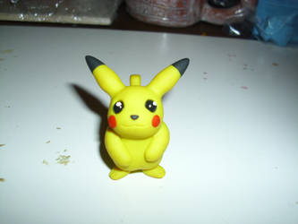 Pikachu Prototype Sculpt by Dreamcraft-Studios