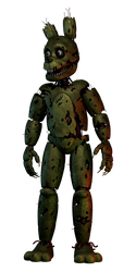 The Fourth Closet | Springtrap by LazyThePotato