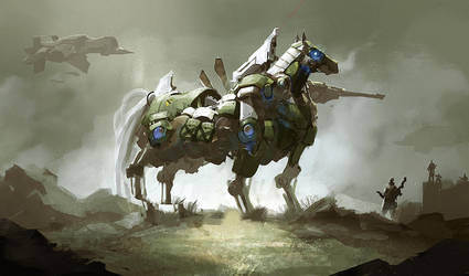 The Mecha-horse by Magnusss