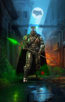 Batman Armour by raulman
