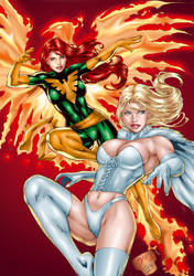 jean and emma by Ed Benes by tony058