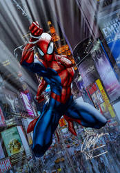 Ultimate Spider Man by J.Scott Campbell by tony058