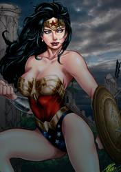 Wonder Woman by Carlos Silva by tony058