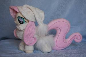 My Little Pony - Fluttershy Dress Plush by Masha05