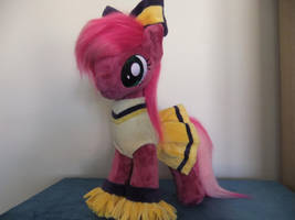 MLP-PLUSH-Miss Cheerilee in cheerleading outfit by Masha05