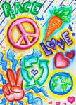 Love, Earth, and Peace by Brendamwest