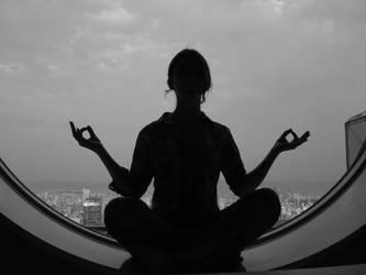 meditation by Izzzzzzy