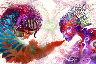 Shamans of Infinity by RavenseyeTravisLacey