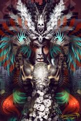 The Maiden of Death by RavenseyeTravisLacey