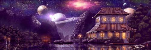 Into the purple devine by RavenseyeTravisLacey