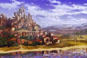 Villa castle by RavenseyeTravisLacey
