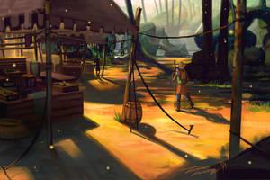 woodland bazaar by RavenseyeTravisLacey