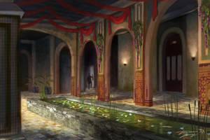 Mudejar interior by RavenseyeTravisLacey