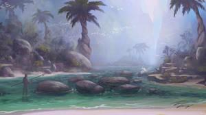 The Lagoon by RavenseyeTravisLacey