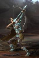 The Archer by RavenseyeTravisLacey