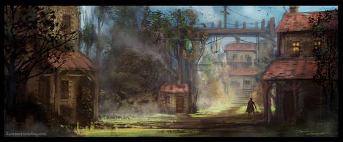 Little Village Concept by RavenseyeTravisLacey