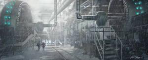 Industrial Battaries by RavenseyeTravisLacey