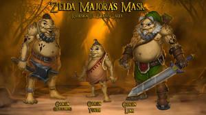 Zelda Majora's Mask: Goron redesign by RavenseyeTravisLacey