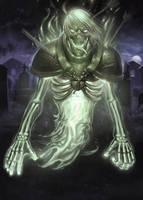 Spirit token MTG by RavenseyeTravisLacey