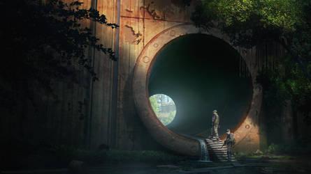 Survival style game art by RavenseyeTravisLacey