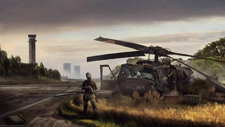 Airfield Loot by RavenseyeTravisLacey