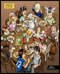 Thanksgiving by erosarts