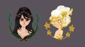 girls by Danicornio