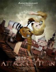 Attack on titan -  annie by hydeaoi