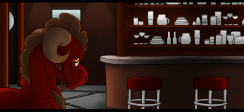 Welcome to my bar! by reichenator