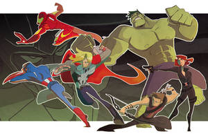 The Avengers by nargyle