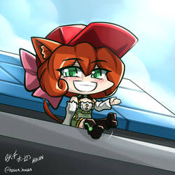 RWBY - Chibi Penny~ There you are~ by HOSEN-HOSEN-HOCEN