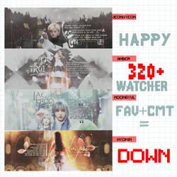 [PSD] SHARE P.2 /// HAPPY 320+ WATCHER by mthej