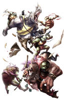 Bebop n' Rocksteady by Phillz-Art