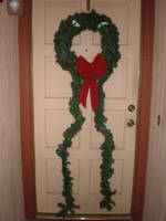 Tim Burton's Monster Wreath by Shadowfox012