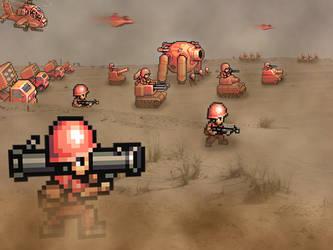 Retro War 'Advance Wars' by RETROnoob