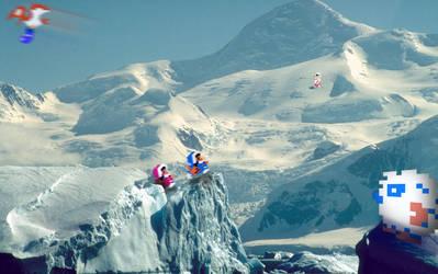 RetroMountain 'Ice Climbers' by RETROnoob