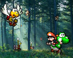 Retro Forest 'Yoshi's Isl.' by RETROnoob