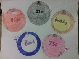 Happy 21th Birthday Bond750 by DanXGoodWolf