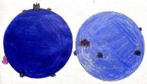 BlueUniBerry Twins by DanXGoodWolf