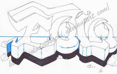 Graffiti: changing thickness by Eolodeiboschi