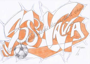 Graffiti: to Santy (S68Navia) by Eolodeiboschi