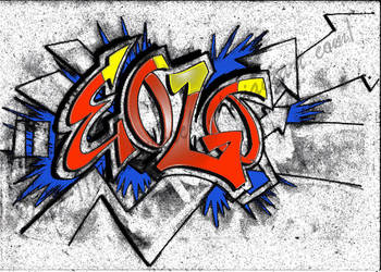 Graffiti 012 by Eolodeiboschi