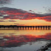 Tay Rail Bridge, Scotland by NurturingNaturesGift