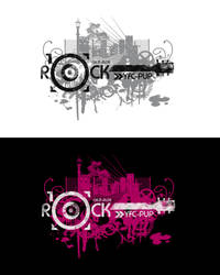 Rock 10 Logo by Kyuzengi