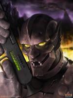 Voltron: Ultra Droid by JoshBurns