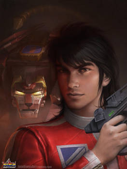 Keith and Black Lion by JoshBurns