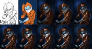 Copper Kidd step-by-step by JoshBurns