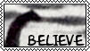 Believe .:Nessie:. Stamp by ztak1227