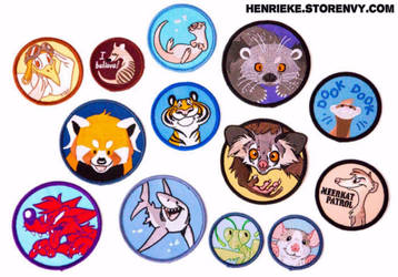 New patches! by Henrieke